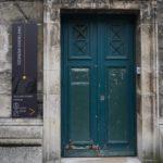La porte de l'accueil Ozanam Madeleine