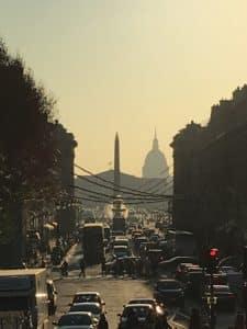 Perspective de la rue royale