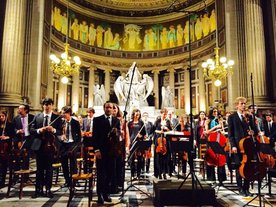 Concert de musique classique à l'église de la Madeleine